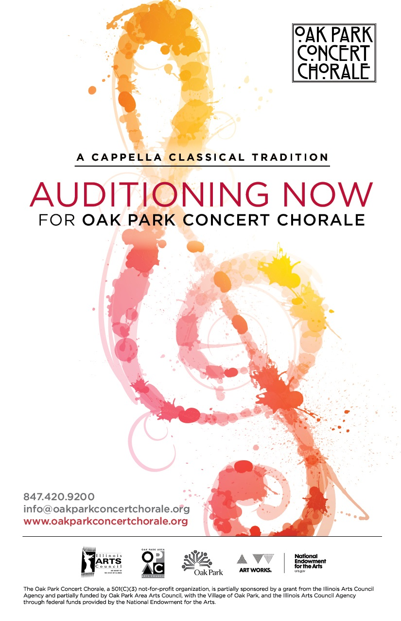 Spring 2018 audition flyer